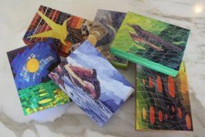 Six Tom Meret Watercolor Puzzles