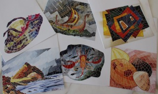 Tom Meret note cards - set 2