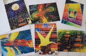 Tom Meret note cards - set 1